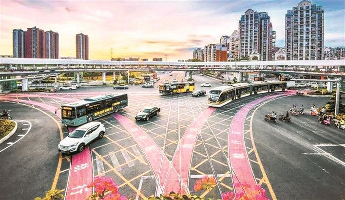 深圳龙华有轨电车第四次提速